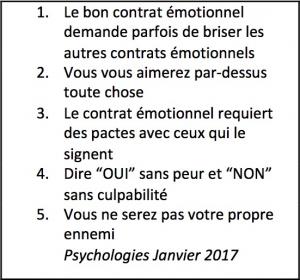 Psychologies Janvier 2017