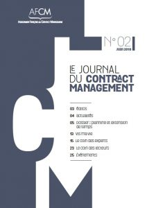 Journal du contract management